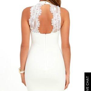 Lulus White Bodycon Dress